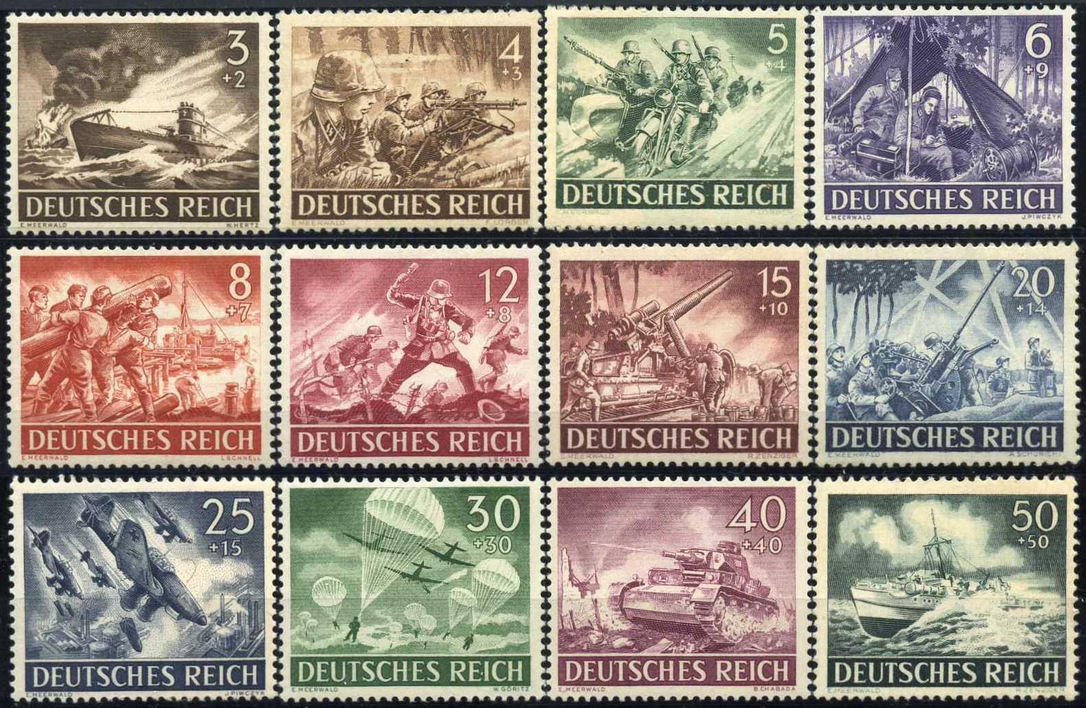 Сколько марок нужно на открытку в германию 10